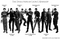 Evolution of Leon S. Kennedy