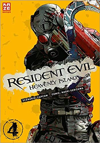 Resident Evil Heavenly Island Band 4 Cover