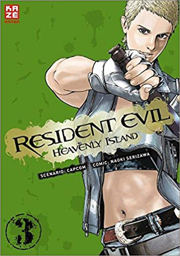 Resident Evil Heavenly Island Band 3 Cover